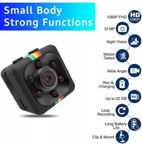 mini kamerka szpiegowska z zapisem na karte msd