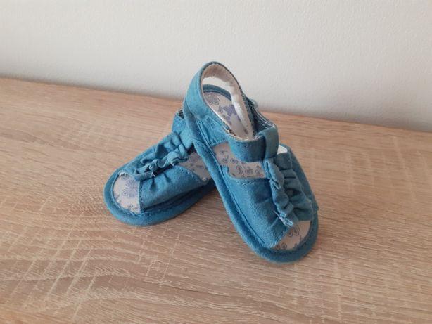 Buciki niechodki sandałki wkładka 11cm