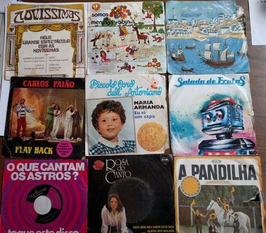 Discos Musica Portuguesa raros 45 rotações