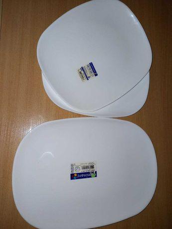 Блюдо Luminarc Sweet Line White.Подарочный набор из 3-х блюд.