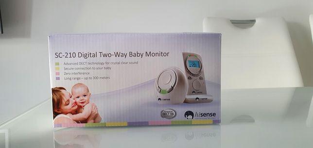 Niania elektroniczna SC-210 Digital Two-Way Baby Monitor