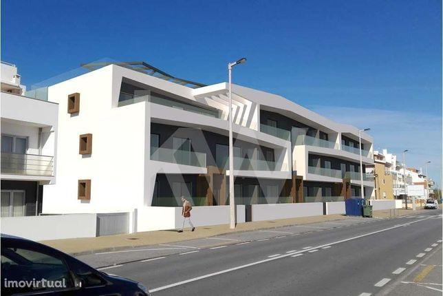 Apartamento de Luxo T2 Novo na 1a linha da Praia na Costa Nova