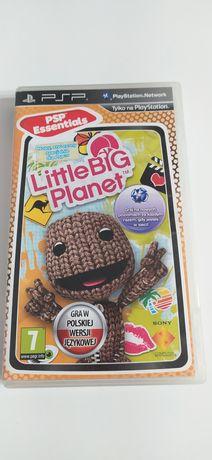 PSP gra Little Big Planet polska wersja językowa