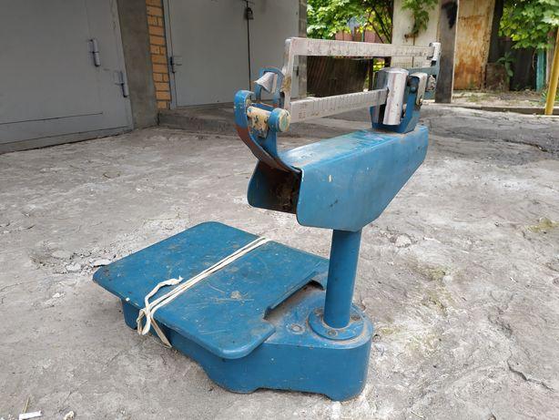 Весы почтовые 50 кг 1981 г