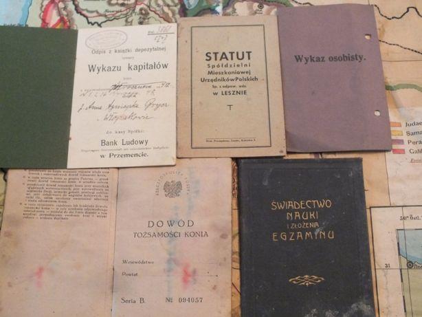stare książki polskie