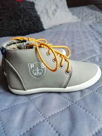 Buty, trzewiki chłopięce