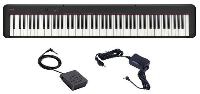 Pianino Casio CDP S100 BK Sustain ZESTAW KOMPLET
