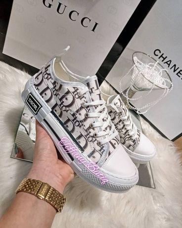 Buty sneakersy christian Dior napisy adidasy 39