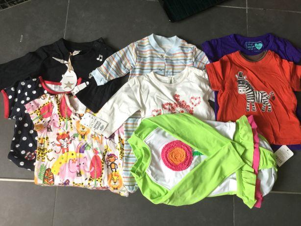 Koszulka pajacyk strój baby dziewczynka chłopak H&M Primark Mothercare