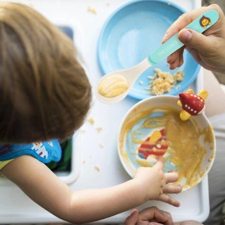 Столовые приборы для детей (посуда для детей: вилка, ложка) набор