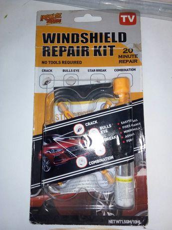 Набор для ремонта трещин лобового стекла Windshield Repair Kit PLUS