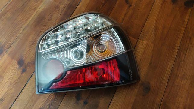 Tylne lampy światła Audi A3 8L tuning