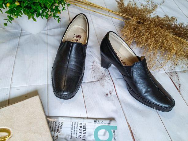 Кожаные туфли, ботильоны