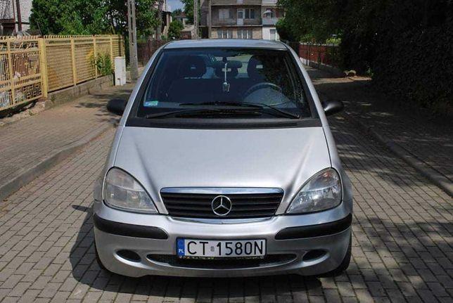 Mercedes A140 Klima Długie Opłaty