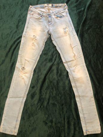 Calças de ganga bershka  skinny jeans