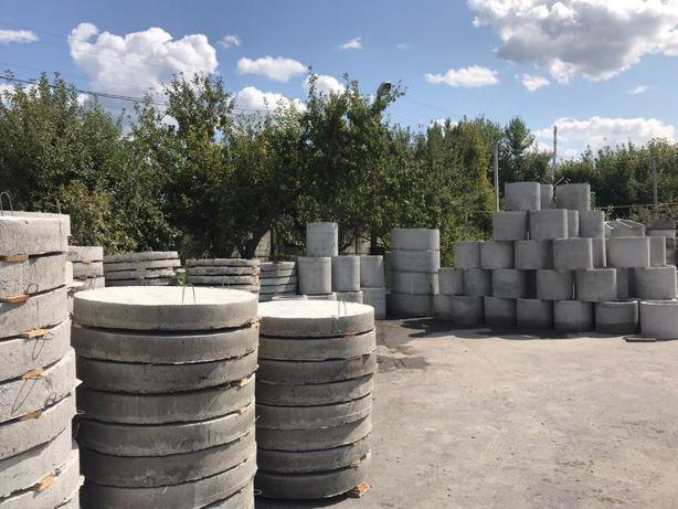 Колодезные и канализационные кольца. Кольца ЖБИ-Доступная цена