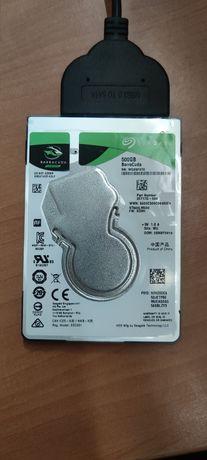 Жесткий диск Seagate BarraCuda HDD 500GB 5400rpm 128MB ST500LM030