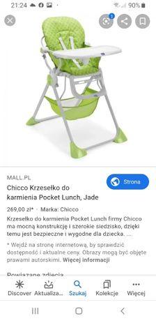 Chicco Pocket Lunch krzesełko do karmienia