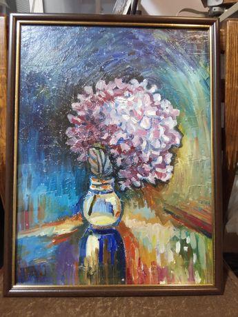 Картина на подарок, живопись масляными красками на холсте
