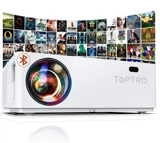 Projector led 7200 lumens/NATIVA 1080P/Bluetooth/4k (NOVOS)