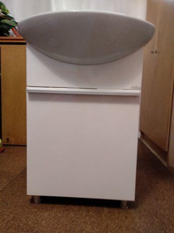 Szafka łazienkowa z umywalką cersanit 50cm