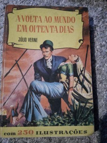 Livro julio verne-a volta ao mundo em 80dias