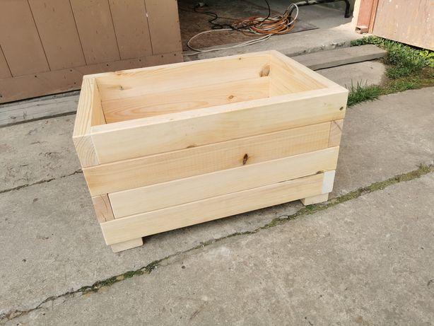 Donica drewniana 60x40x30