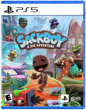•WYSYŁKA 0 Zł• Sackboy: A Big Adventure / Wielka przygoda Gra PS5