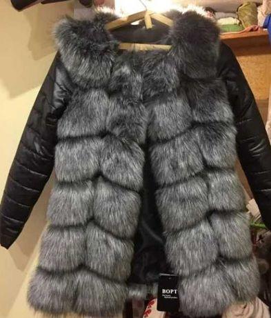 Шуба / трансформер куртка, жилетка пальто дубленка пуховик, парка мех.