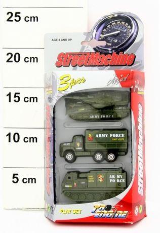 Набор машинок спецтехника Игрушка для мальчика (военные ,3шт, металл)