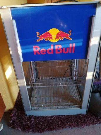 Lodówka Red Bull uszkodzona barowa