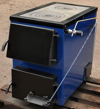 Котли-плити БілЕко-16П/4 традиційного горіння на дровах і вугіллі.