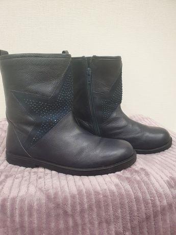 Кожаные ботинки для девочки Kakadu