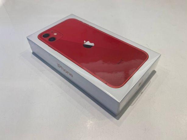 Apple iPhone 11 64GB Czerwony/Red - nowy, zafoliowany