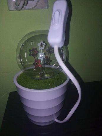 Lampka plazmowa.