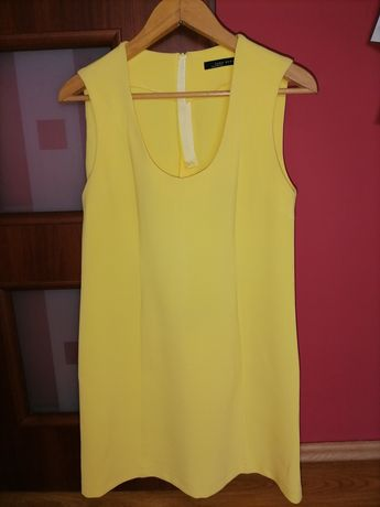 Sukienka żółta ZARA - S-ka