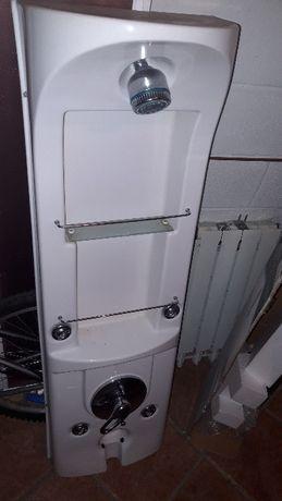 Artigos para wc - Base e coluna de duche e urinol