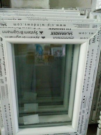 Sprzedam okno pcv nowe wys 80 szer 60 uchylno-rozwierne .TANIO .