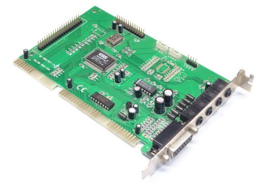 Винтажная звуковая карта ess audiodrive es1868f