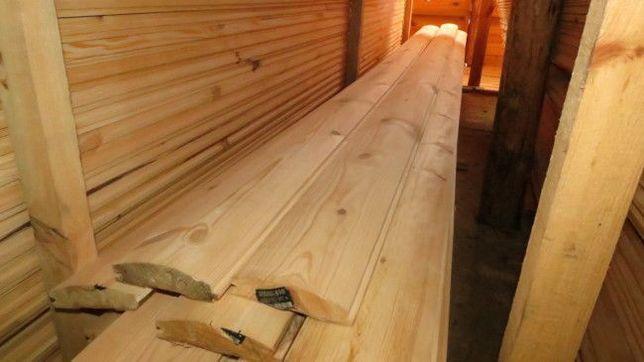 Дерев'яний Фальшбрус,Блок-хаус(від виробника)