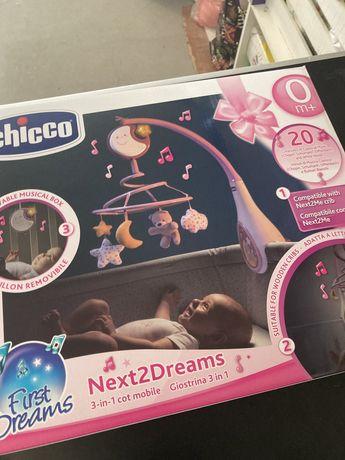 Mobile Chicco dreams rosa