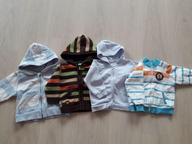 Bluzy bawełniane 74 cm ( 9-18 miesiecy)