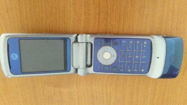 Motorola KRZR K1+наушники.