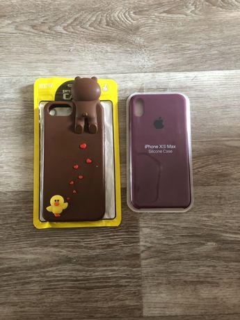 Чехол на iphone ХS max НОВЫй!