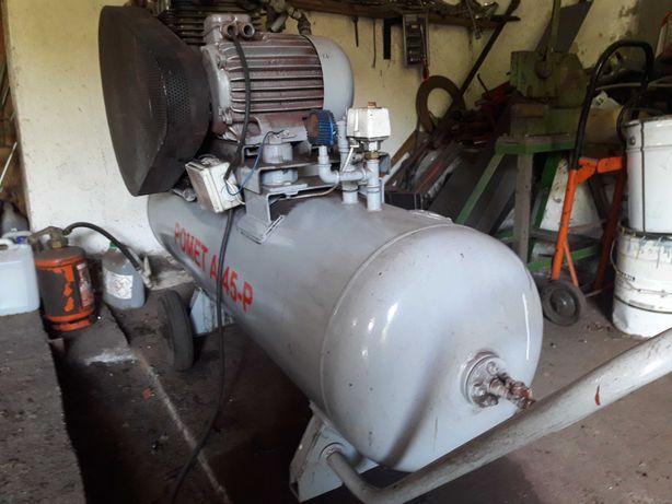 Sprzedam sprężarke ,kompresor duży zbiornik 330l POMET A-45-P 7,5 KW