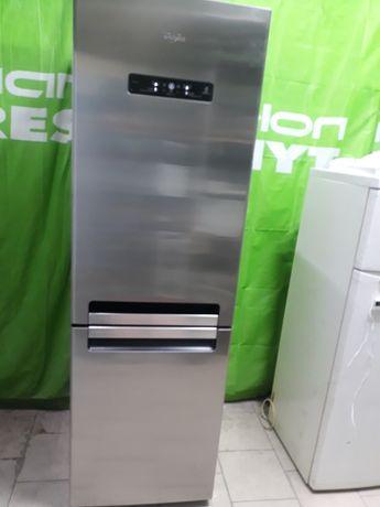 Холодильник Whirlpool  No Frost  морозильная камера  3 ящика  .