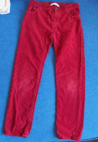 spodnie sztruksowe hm 134, 8-9lat