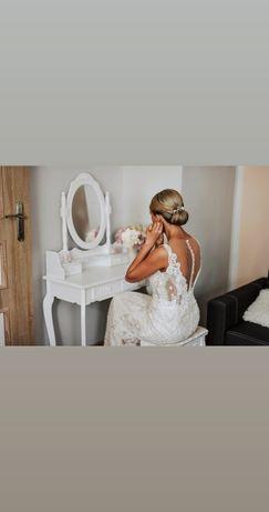 Sukienka ślubna syrenka rozmiar 38