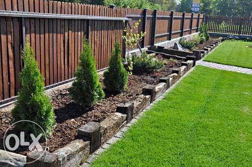 Ogrody, trawniki wertykulacja, zakładanie i pielęgnacja, kostka bruk