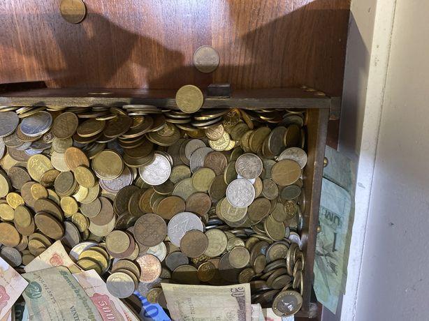 Moedas - Baú do Tio Patinhas - 24,4 Kg moedas